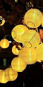 Nylon White Indoor Outdoor Mini String Lights