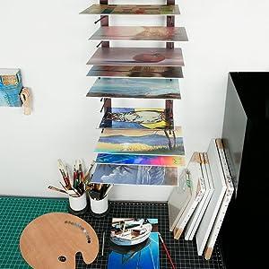 artist dry rack