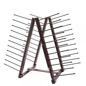 canvas panel rack
