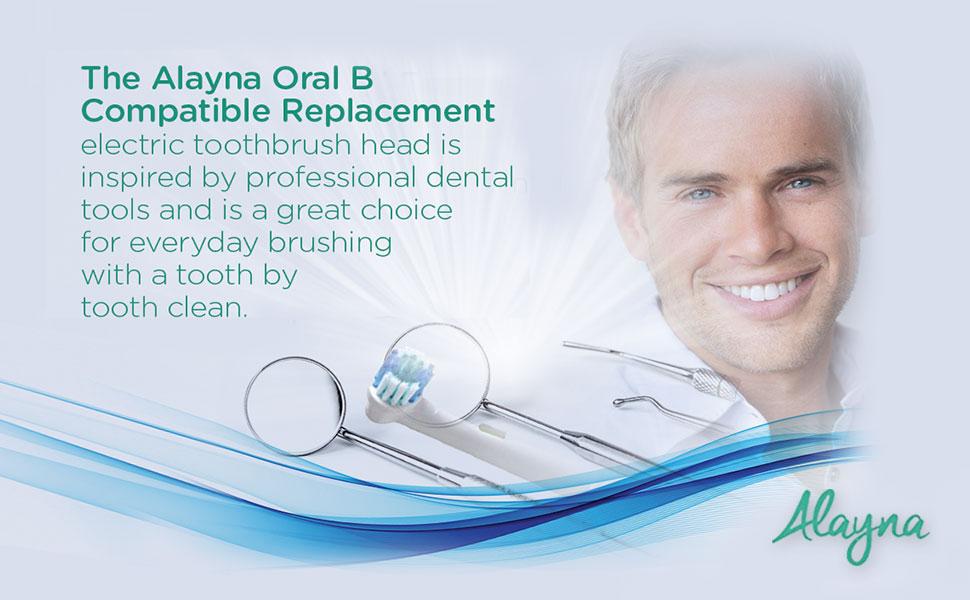 oralb braun replacement electirc toothbrush head