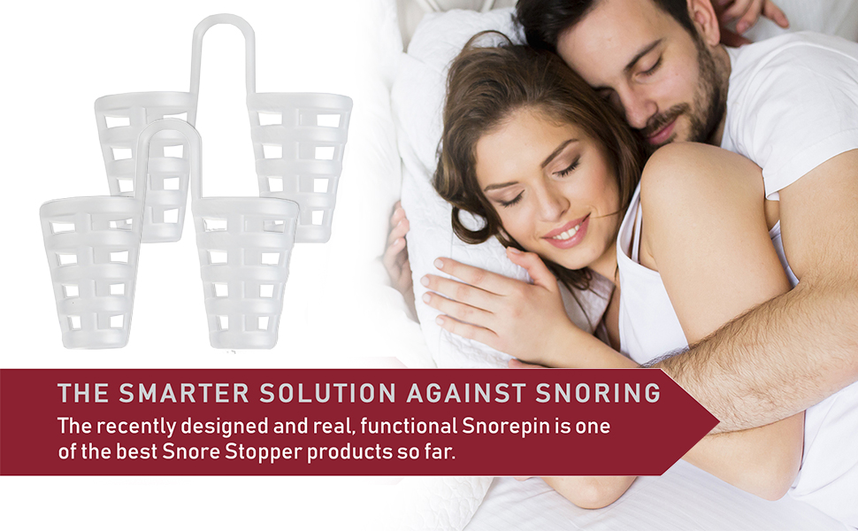 Amazon Com Snorepin Anti Snoring Aid Sleep Device The Smarter