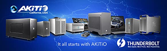 Akitio Node - Thunderbolt3 eGPU for Windows (Now Compatible w/ Thunderbolt3  Mac Running MacOS High Sierra Using AMD Cards)