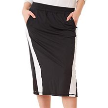 Midi Skirt With Shorts