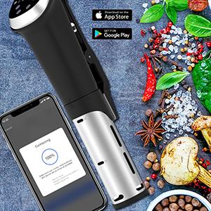 Anmade WiFi Sous Vide 1000W Precision Cooker Immersion Circulator Digi