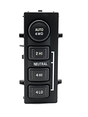 4WD 4x4 Switch - Replaces 901-072, 19168767, 15709327, 901-062 - Fits Chevy Silverado