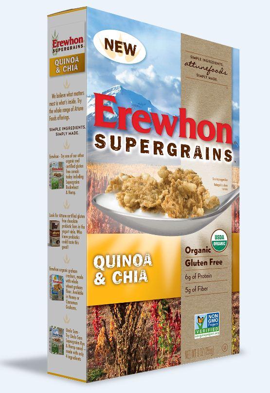 Erewhon Organic Supergrains Quinoa & Chia Cereal