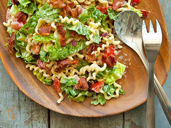 BLT Pasta Salad Recipe