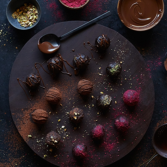 chocolate date energy balls recipe
