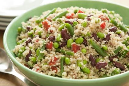 Three Bean Salad with Quinoa