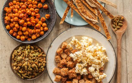 Honey-Garlic Popcorn