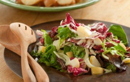 Radicchio, Fennel and Pear Salad