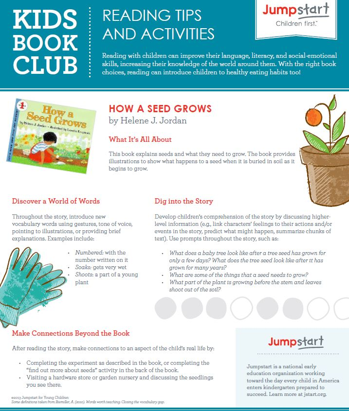 Kids Book Club Reading Tips and Activities