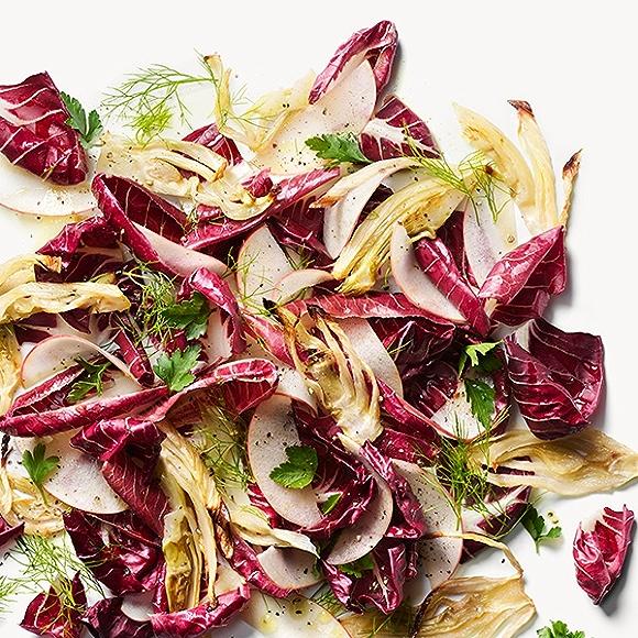Radicchio and fennel salad recipe