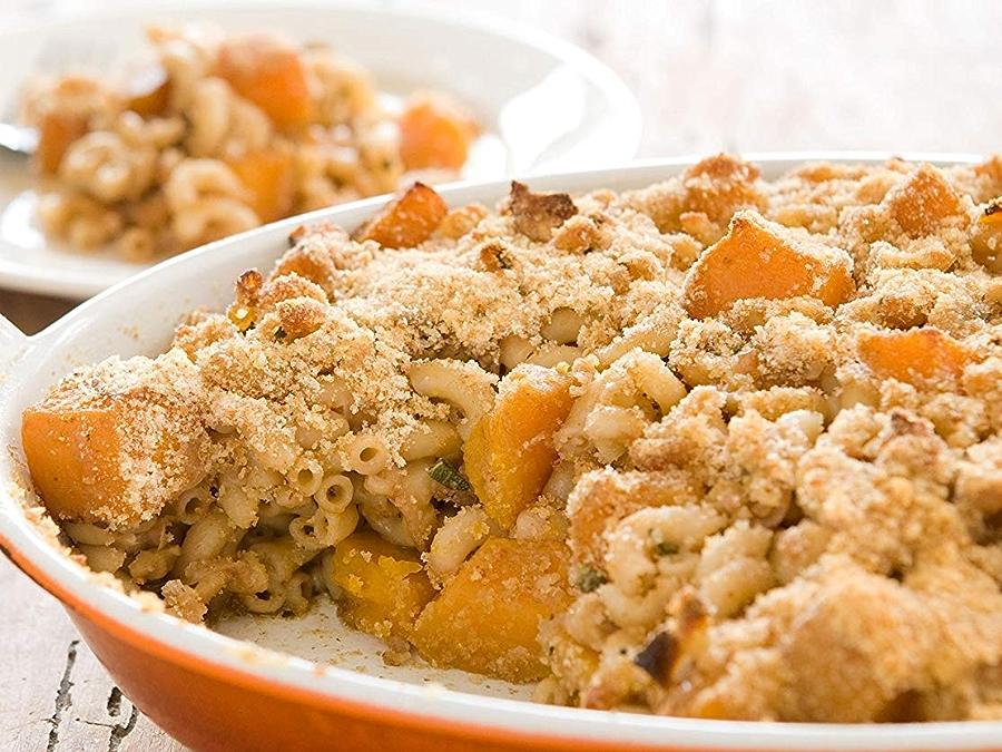 Photo: Butternut Squash and Macaroni Casserole