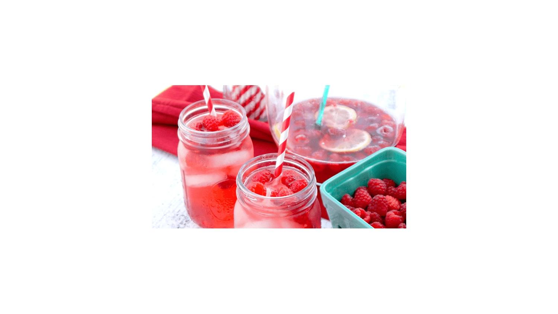Raspberry Rosé Sangria