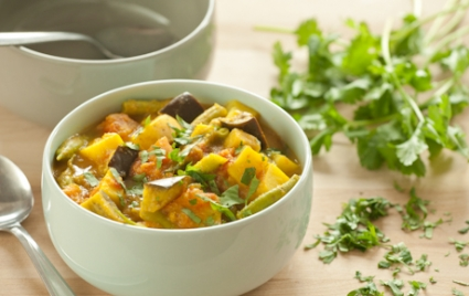 Spicy Vegetable and Potato Curry