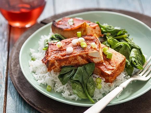 Spicy Slow Cooker Tofu