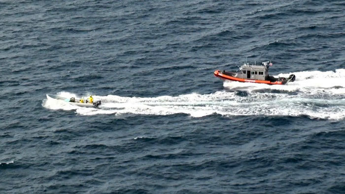 United States Coast Guard interdicts Mexican lancha