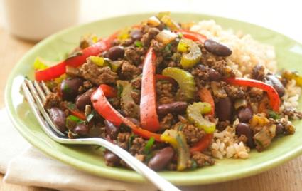 Cajun Grass-Fed Beef Skillet Supper