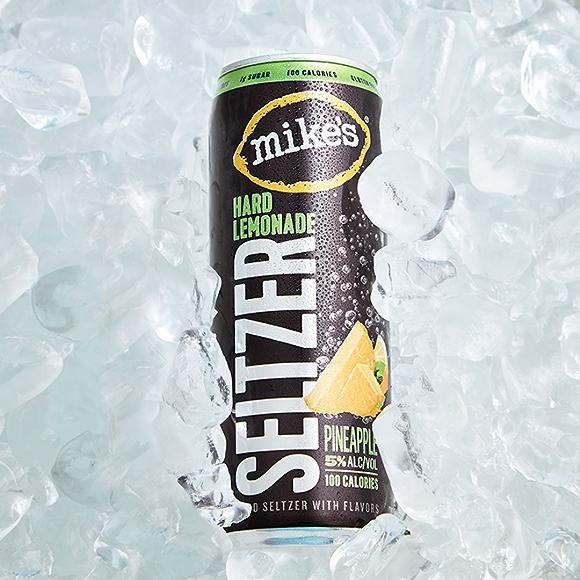 Mike's Hard Lemonade Pineapple Seltzer drink