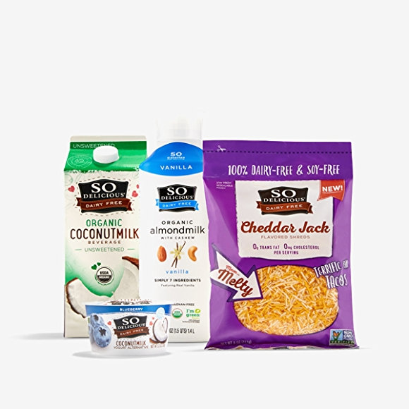 Vegan dairy alternatives