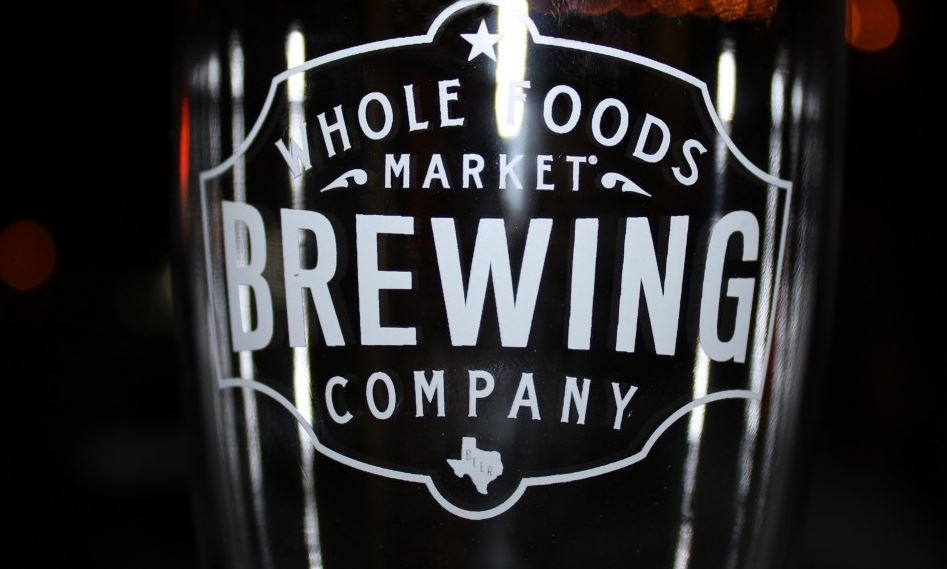 Whole Foods Market Brewing Company pint glass