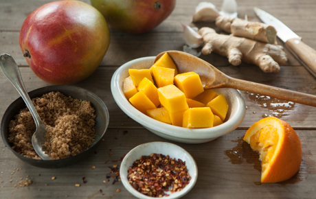Fresh Mango Marinade