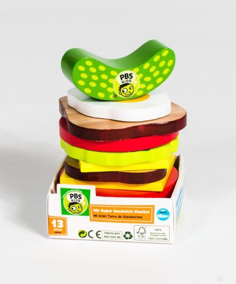 PBS KIDS My Super Sandwich Stacker