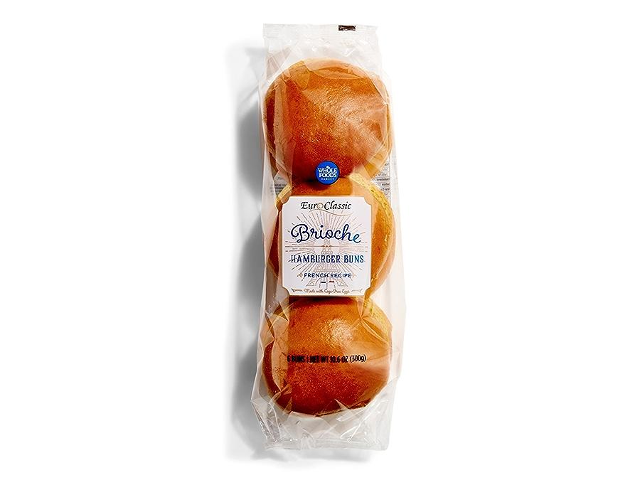 Brioche Buns in Packaging