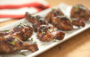 Five-Spice Cranberry Chicken Wings