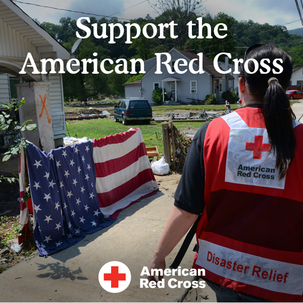 Donate to the American Red Cross Hurricane Harvey Relief