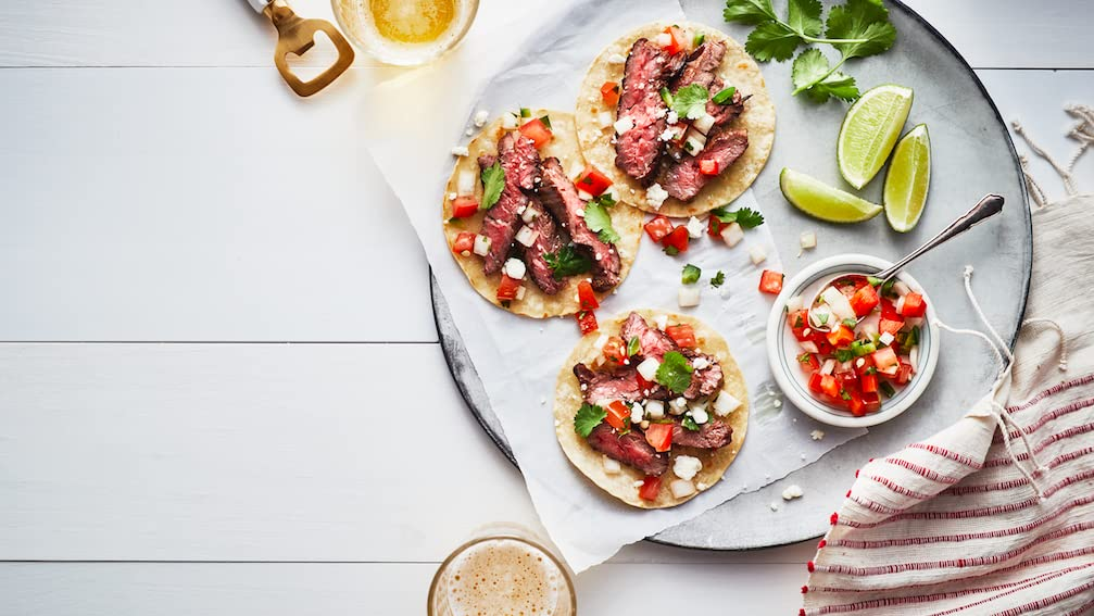Steak Tostadas