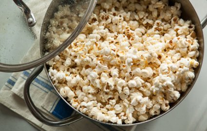 Foolproof Stovetop Popcorn