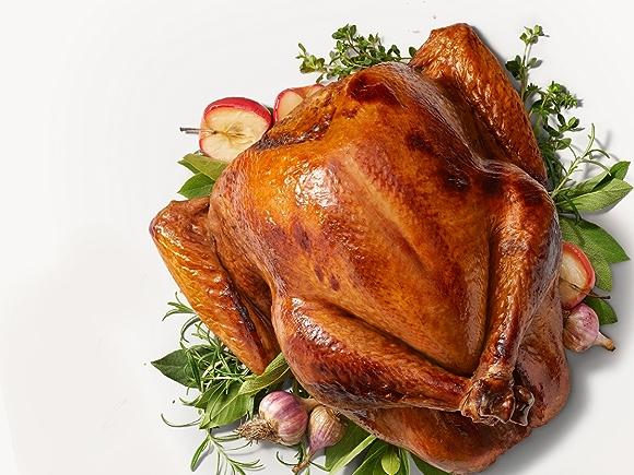 Herby Dry Brined Turkey