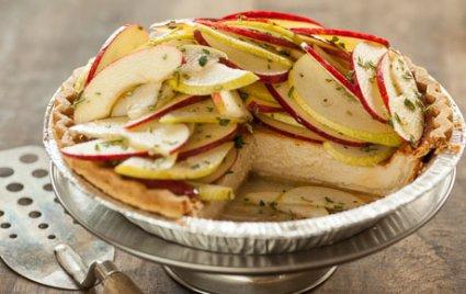 Gluten-Free Autumn Fruit and Mascarpone Tart