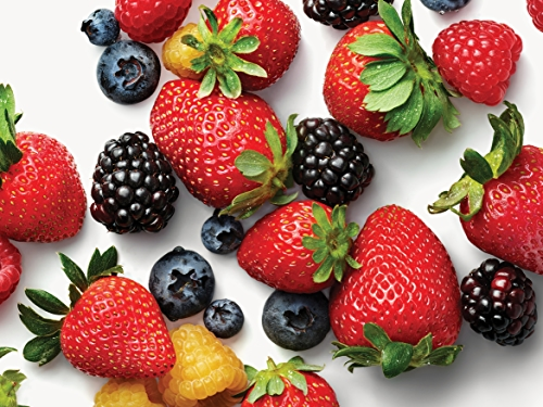 Organic Strawberries, Raspberries, Blueberries
