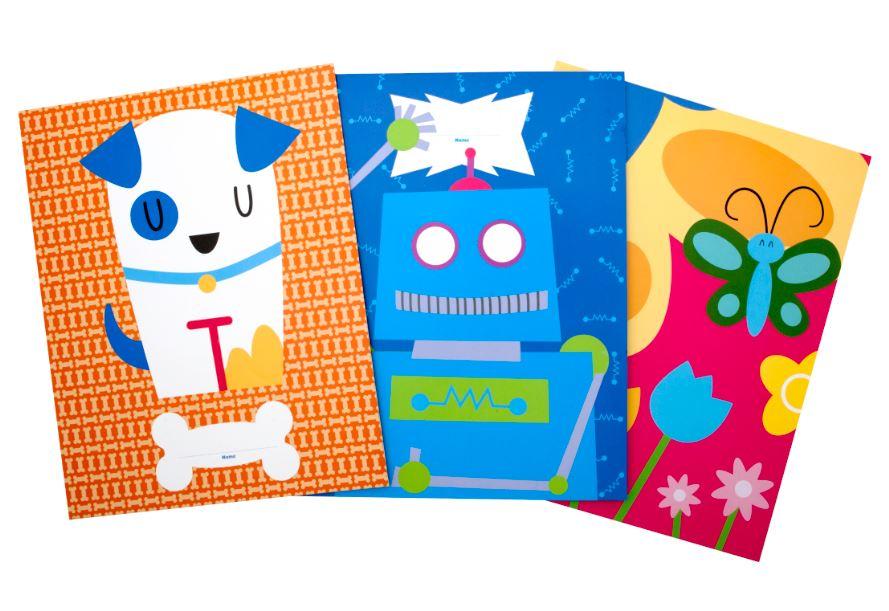 PBS KIDS School Supplies Mudpuppy Notebooks and Folders