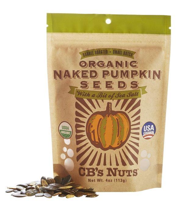 CB's Nuts Organic Pumpkin Seeds