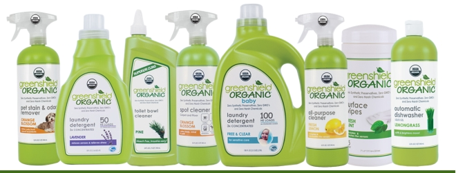 GreenShield Cleaning Products