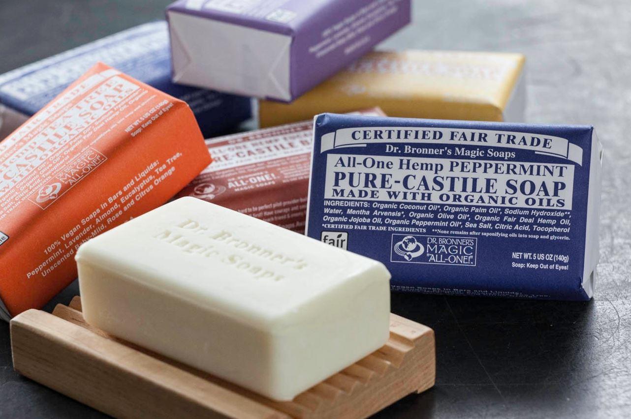 Dr. Bronner's Organic All-One Hemp Pure Castile Bar Soap
