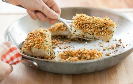 Crispy Skillet-Baked Cod