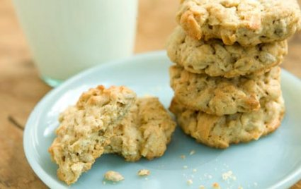 Oatmeal, Coconut and Sunflower Seed Cookies