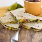 Roasted Vegetable Quesadilla
