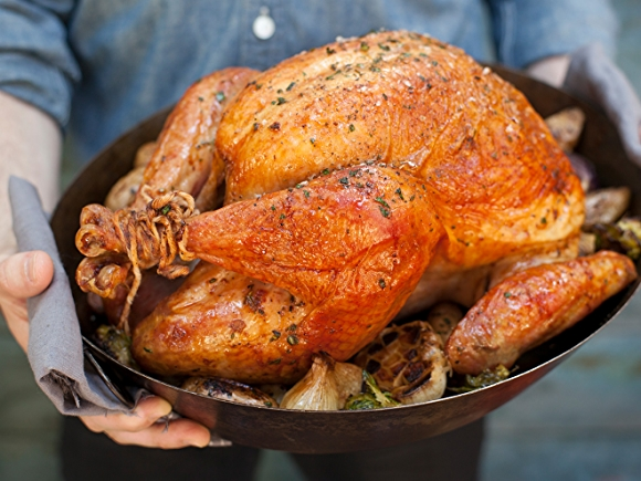 Turkey - Trussed and Golden Brown