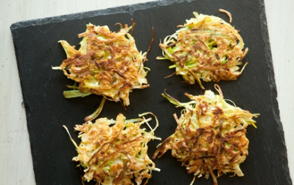 Cabbage and Leek Griddle Cakes