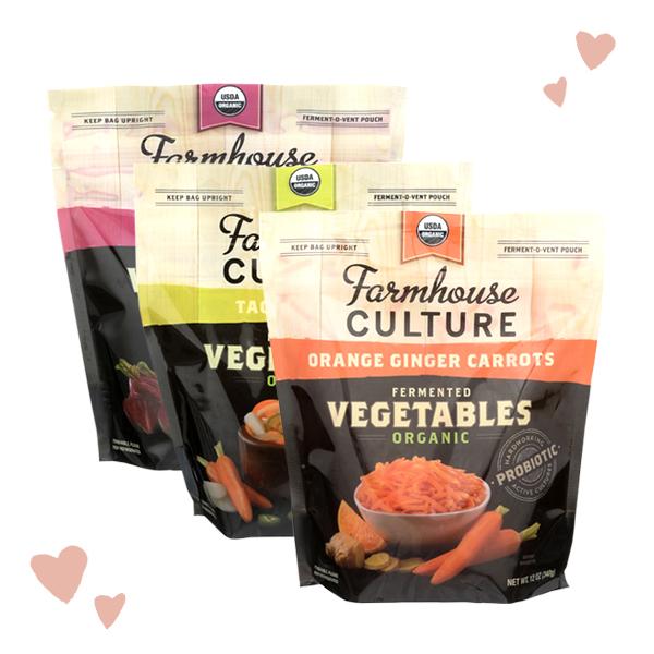 Farmhouse Culture Organic Fermented Vegetables