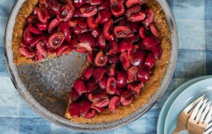 Raw Cherry Pie