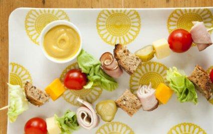 Club Sandwich Kabobs