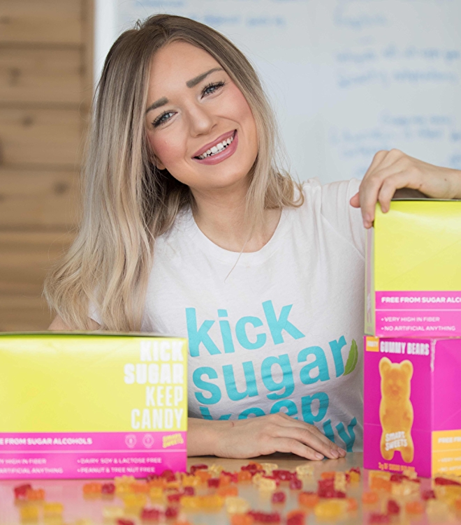SmartSweets founder Tara Bosch
