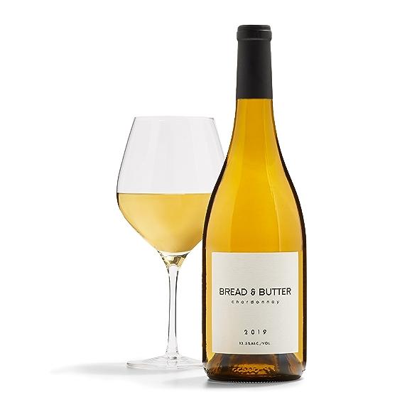 bottle of Bread & Butter Chardonnay wine